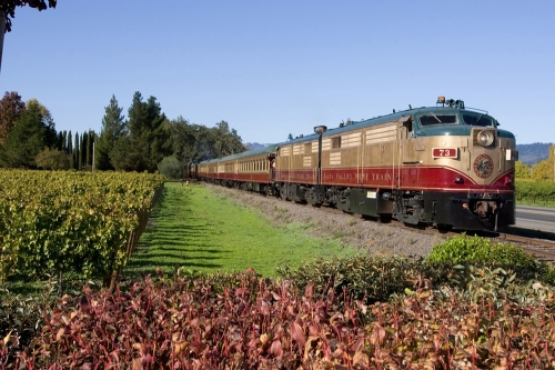 Napa Wine Train, V. Sattui Winery, V. Sattui Weddings