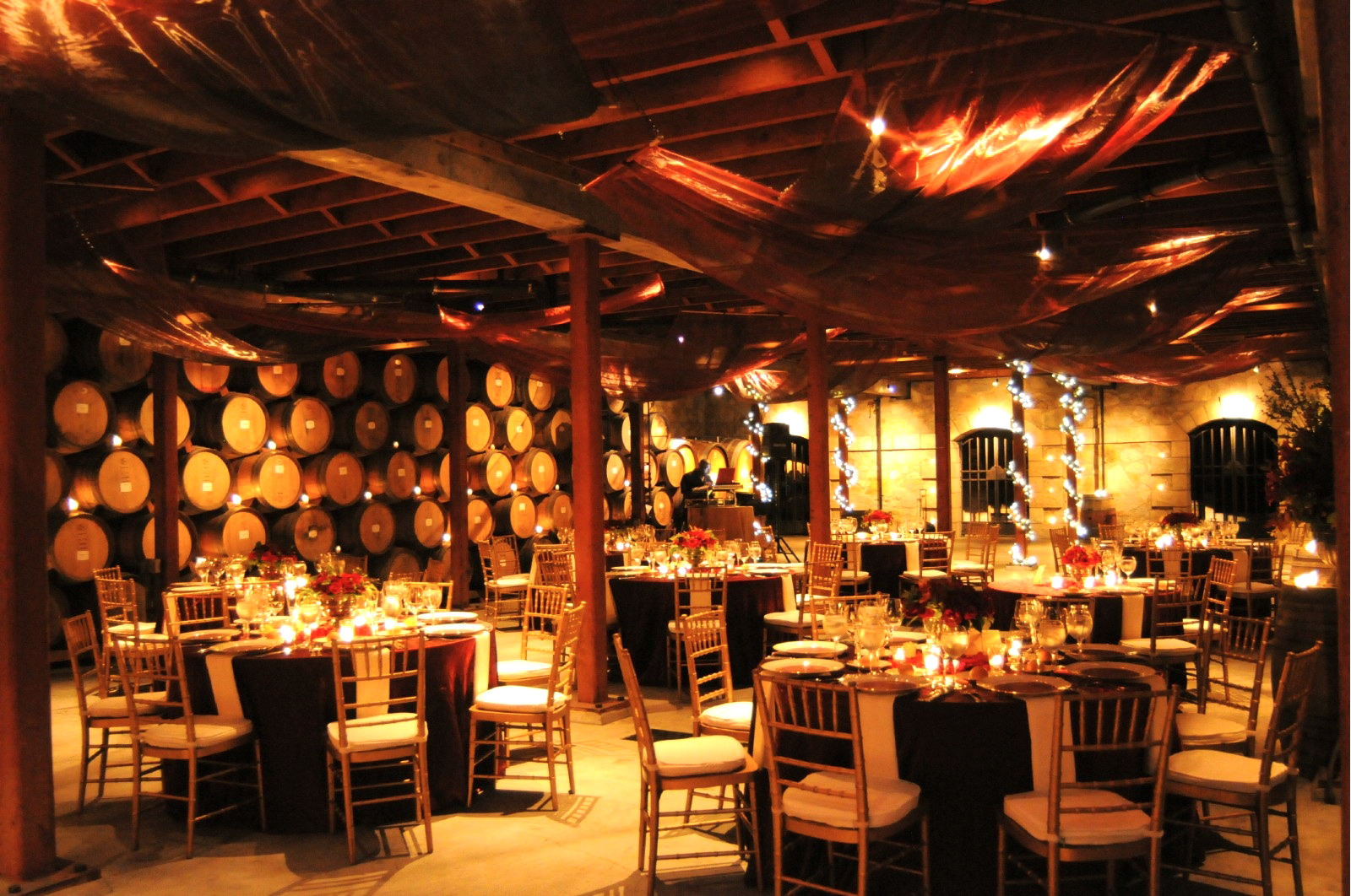 Barrel Room Reception And Dance Space V Sattui Winery