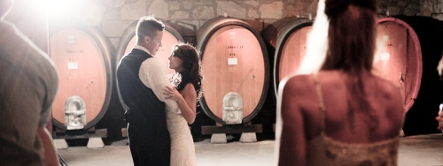 Wedding, Winery Wedding, Napa, Napa Valley, Winery, Sattui, Barrel Room